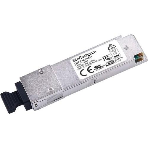 StarTech.com QSFP+ - 1 MPO Duplex 40GBase-SR4 Network