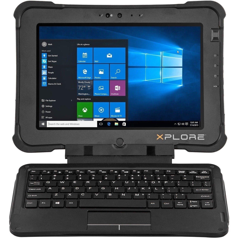 "Xplore XBOOK L10 25.7 cm (10.1"") Touchscreen 2 in 1 Notebook - 1920 x 1200 - Core i5 - 8 GB RAM - 128 GB SSD"