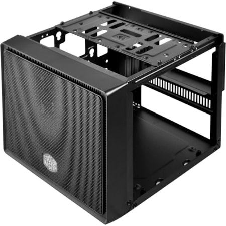 Cooler Master Elite RC-110-KKN2 Computer Case - Mini ITX Motherboard Supported - Mini-tower - Polymer, Mesh, Steel, Plastic - Midnight Black - 2.65 kg