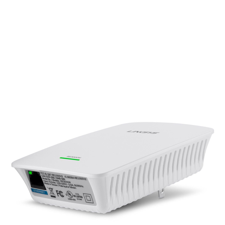 Linksys RE3000W IEEE 802.11n 300 Mbit/s Wireless Range Extender