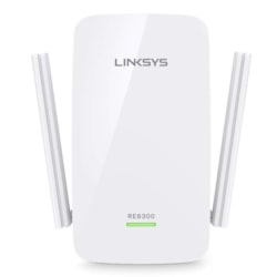 Linksys RE6300 IEEE 802.11ac 750 Mbit/s Wireless Range Extender
