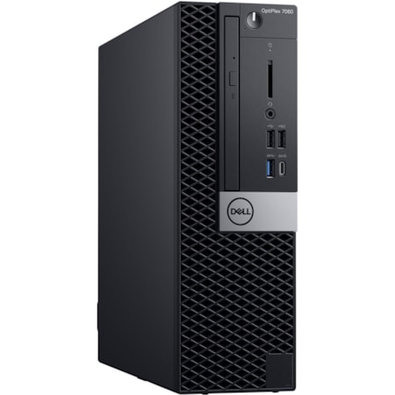 Dell OptiPlex 7000 7060 Desktop Computer - Intel Core i5 (8th Gen) i5-8500 - 8 GB DDR4 SDRAM - 256 GB SSD - Windows 10 Pro 64-bit (English) - Small Form Factor