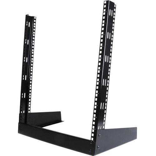 StarTech.com 12U High x 482.60 mm Wide Rack-mountable Rack Frame - Black