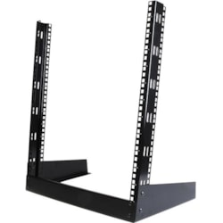 StarTech.com 12U High x 482.60 mm Wide Rack-mountable Rack Frame - Black