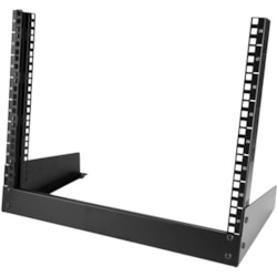 StarTech.com 8U Tabletop Rack Frame for A/V Equipment - Black