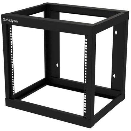 StarTech.com 9U Rack Frame for Server, LAN Switch, Patch Panel - 482.60 mm Rack Width