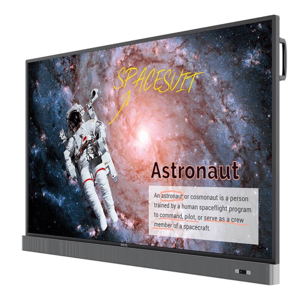 "BenQ RM6502K 165.1 cm (65"") LCD Touchscreen Monitor - 16:9 - 8 ms"