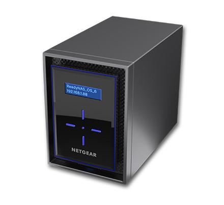 Netgear ReadyNAS RN422 2 x Total Bays SAN/NAS Storage System - Desktop