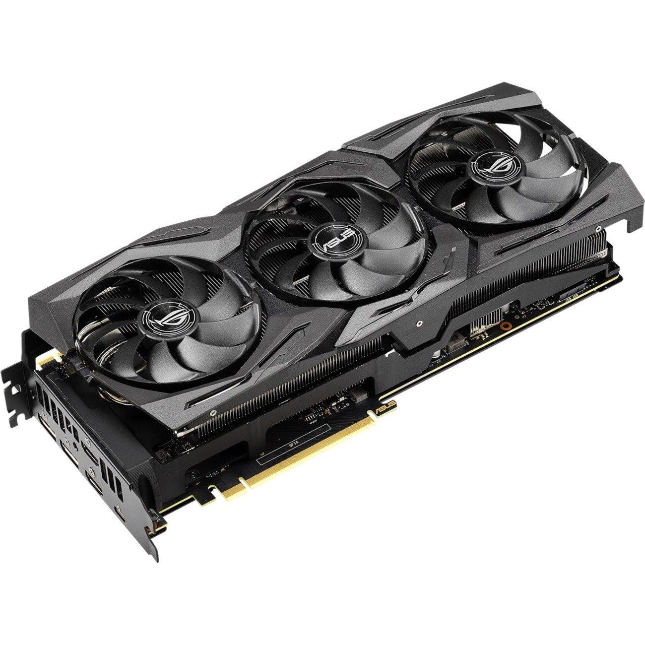 Asus ROG Strix ROG-STRIX-RTX2080TI-A11G-GAMING GeForce RTX 2080 Ti Graphic Card - 11 GB GDDR6
