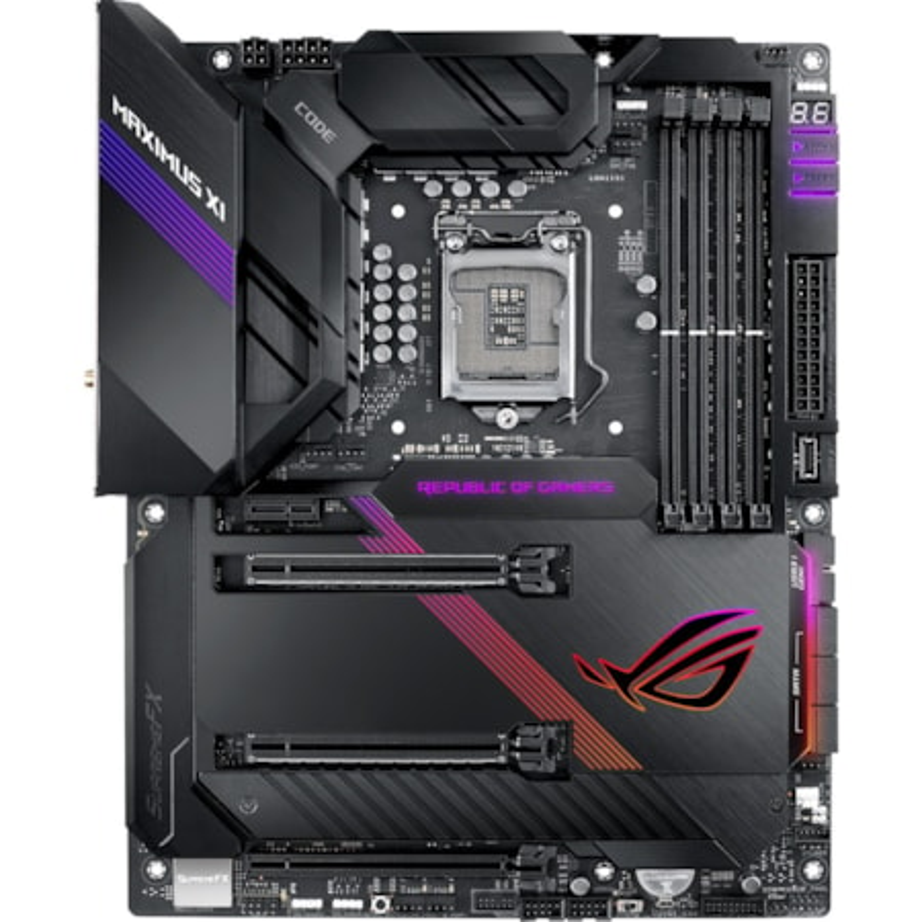 ROG MAXIMUS XI CODE Desktop Motherboard - Intel Chipset - Socket H4 LGA-1151