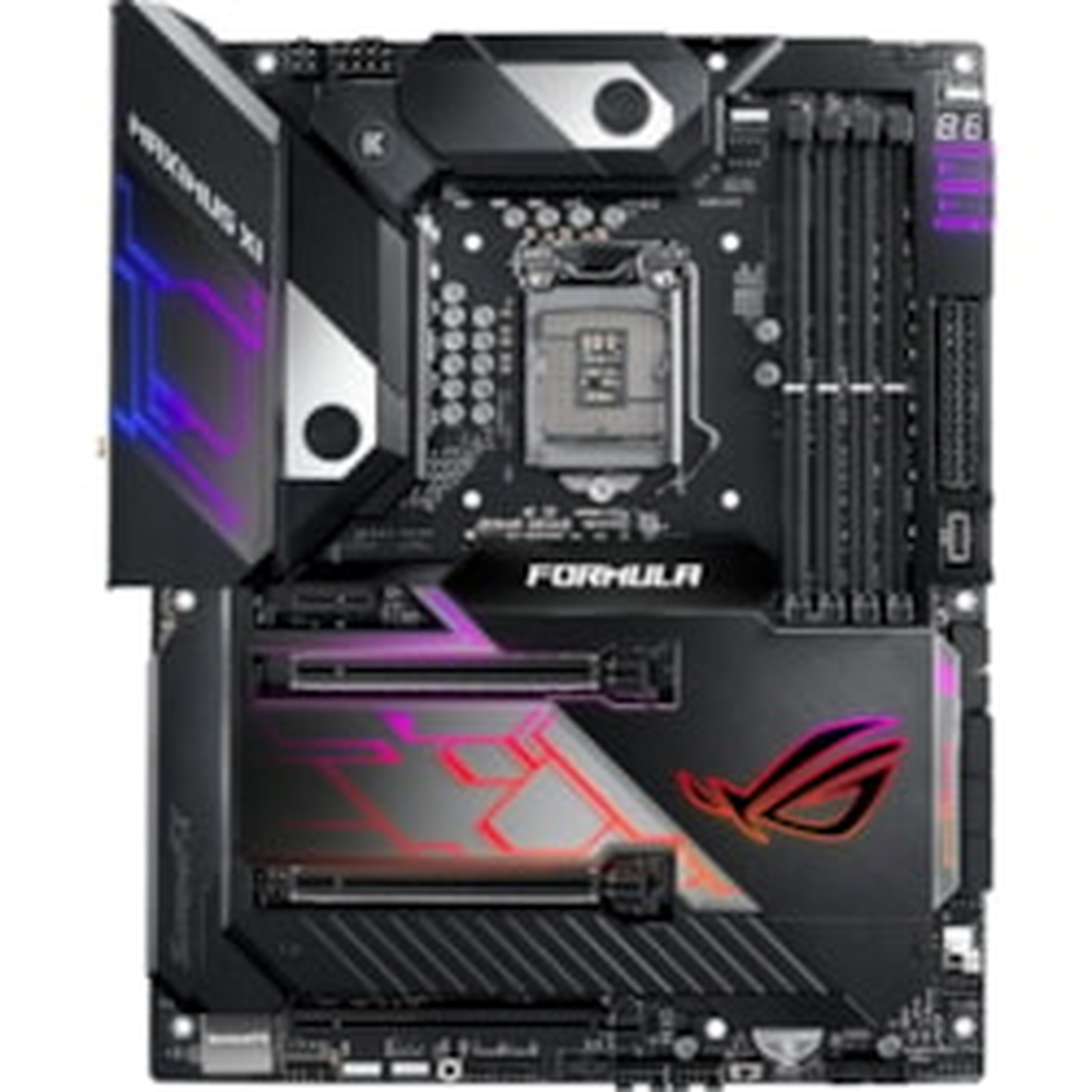 ROG MAXIMUS XI FORMULA Desktop Motherboard - Intel Chipset - Socket H4 LGA-1151