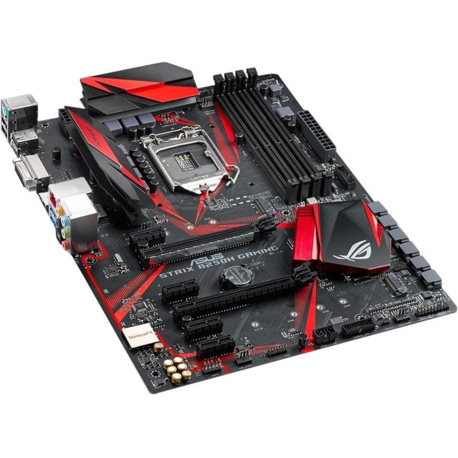 ROG STRIX B250H GAMING Desktop Motherboard - Intel Chipset - Socket H4 LGA-1151