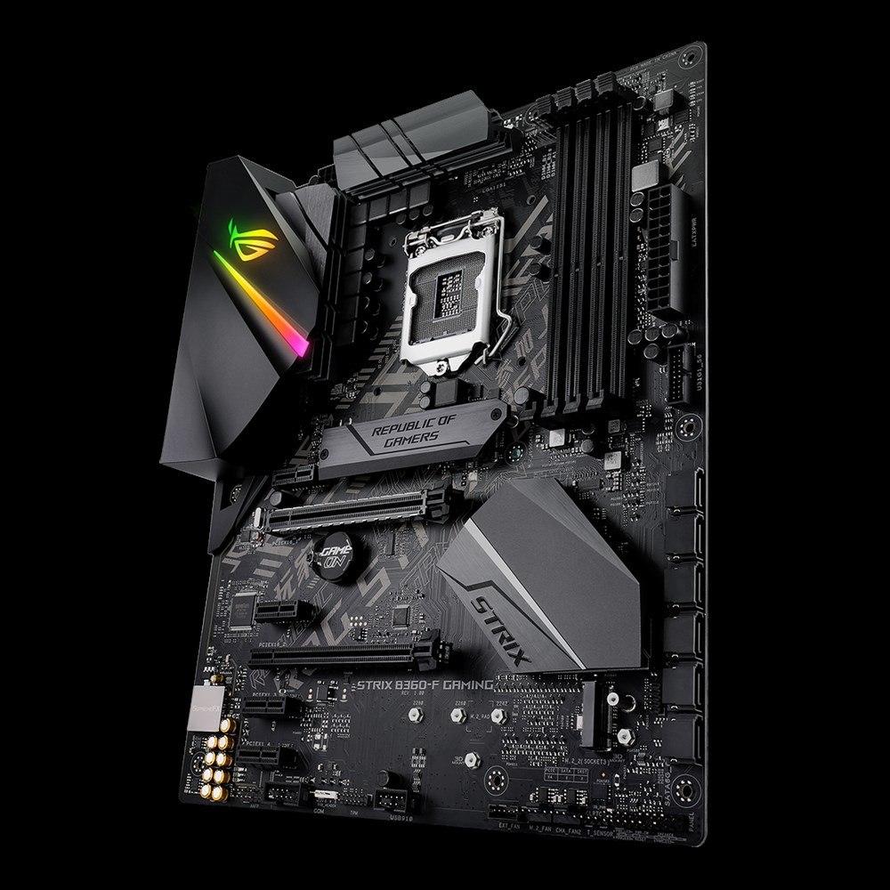 ROG Strix B360-F GAMING Desktop Motherboard - Intel Chipset - Socket H4 LGA-1151
