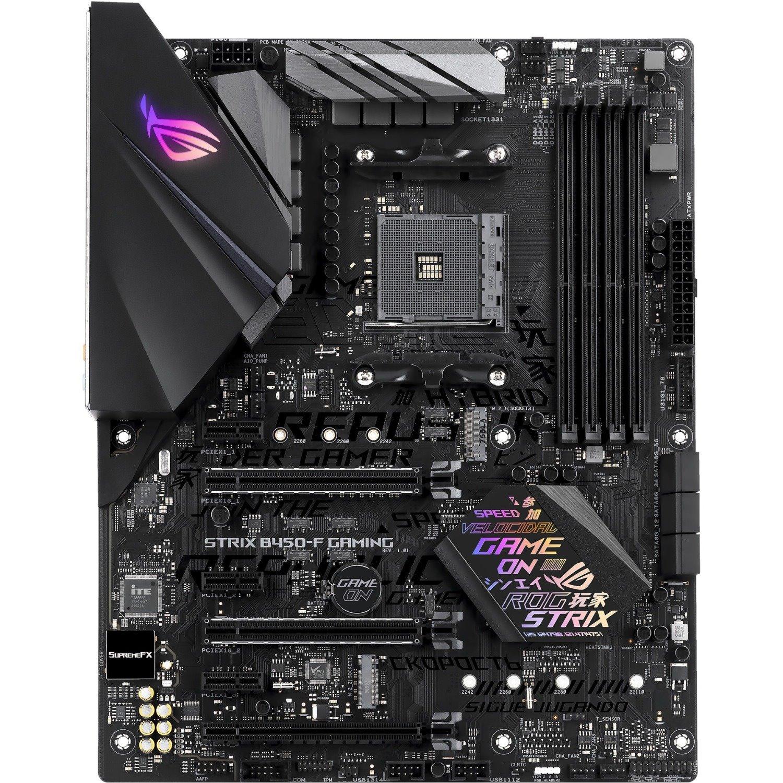 Asus ROG Strix B450-F GAMING Desktop Motherboard - AMD Chipset - Socket AM4