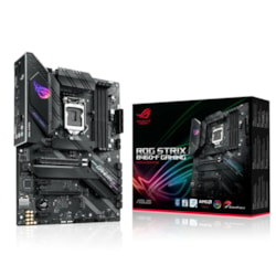 Asus ROG Strix B460-F GAMING Desktop Motherboard - Intel Chipset - Socket LGA-1200