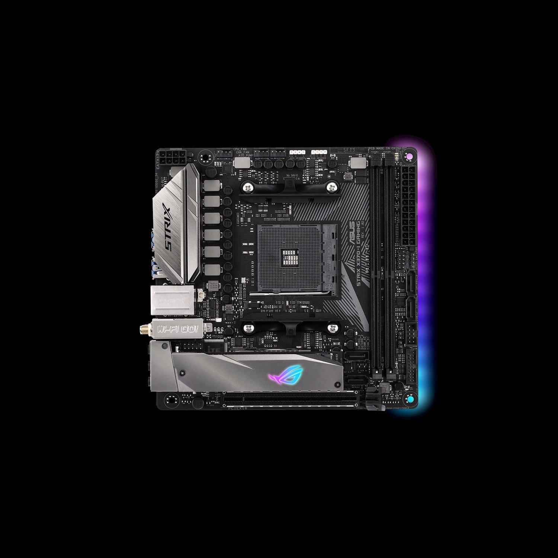 ROG Strix X370-I GAMING Desktop Motherboard - AMD Chipset - Socket AM4