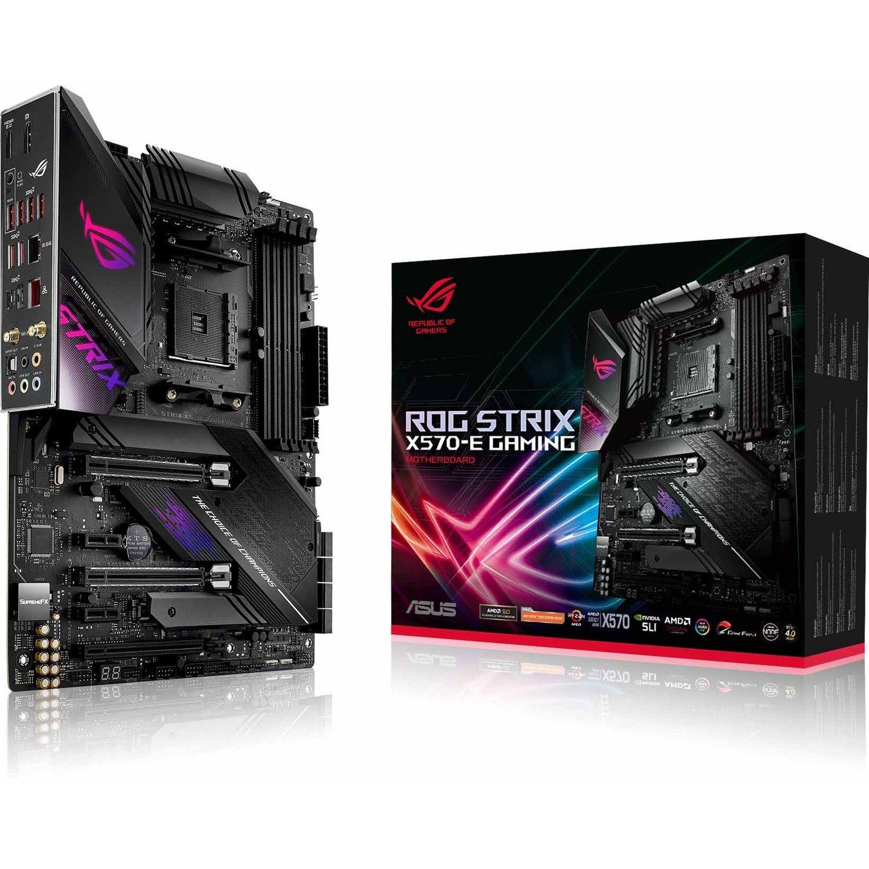 Asus ROG Strix X570-E Gaming Desktop Motherboard - AMD Chipset - Socket AM4