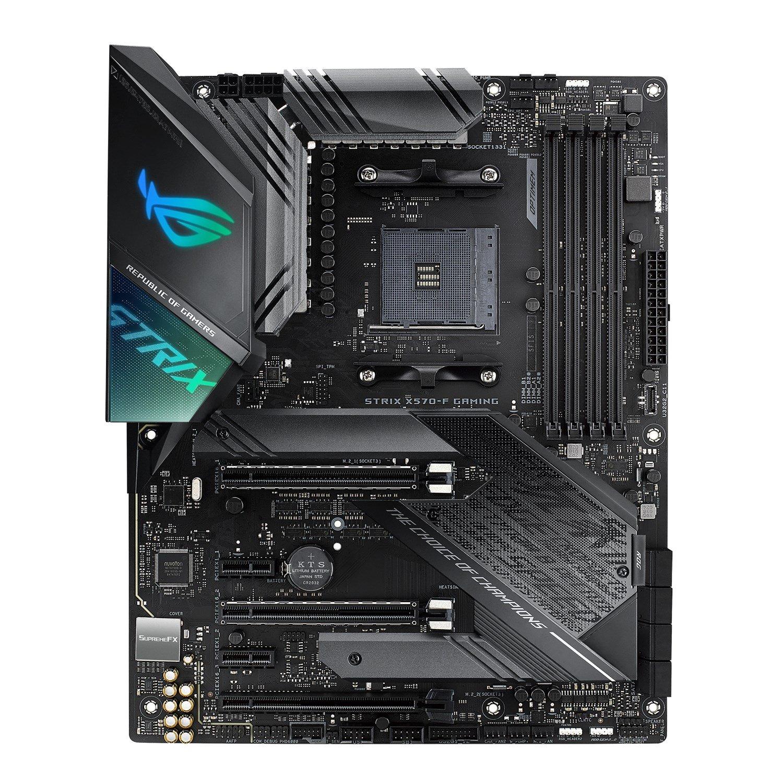 Asus ROG Strix X570-F Gaming Desktop Motherboard - AMD Chipset - Socket AM4