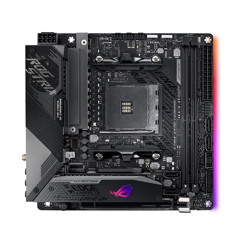 Asus ROG Strix Strix X570-I Gaming Desktop Motherboard - AMD Chipset - Socket AM4