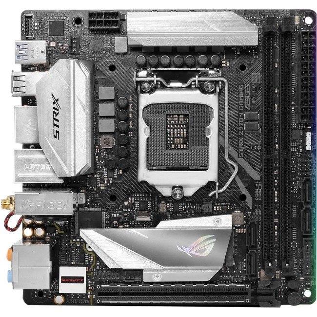 Asus ROG Strix Z370-I GAMING Desktop Motherboard - Intel Chipset - Socket H4 LGA-1151