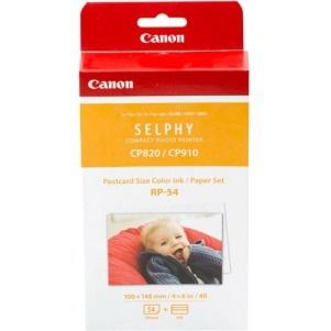 Canon RP-54 Ribbon/Paper Kit - Colour