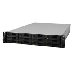 Synology RackStation RS18017XS+ 12 x Total Bays SAN/NAS Storage System - Rack-mountable