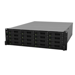 Synology RackStation RS2818RP+ 16 x Total Bays SAN/NAS Storage System - Intel Atom Quad-core (4 Core) 2.10 GHz - 4 GB RAM - DDR4 SDRAM - 3U Rack-mountable