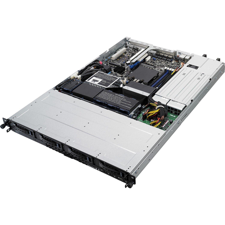 Asus RS300-E9-RS4 Barebone System - 1U Rack-mountable - Intel C232 Chipset - Socket H4 LGA-1151 - 1 x Processor Support