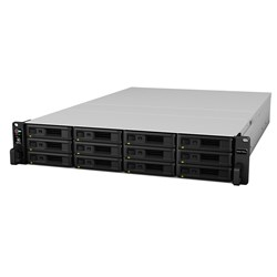 Synology RackStation RS3617RPXS 12 x Total Bays SAN/NAS Storage System - Intel Xeon Quad-core (4 Core) 2.40 GHz - 8 GB RAM - DDR4 SDRAM - 2U Rack-mountable