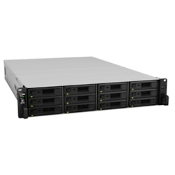 Synology RackStation RS3617xs+ 12 x Total Bays SAN/NAS Storage System - Intel Xeon Hexa-core (6 Core) 2.20 GHz - 8 GB RAM - DDR4 SDRAM - 2U Rack-mountable