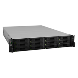 Synology RackStation RS3618XS 12 x Total Bays SAN/NAS Storage System - Intel Xeon Quad-core (4 Core) 2.40 GHz - 8 GB RAM - DDR4 SDRAM - 2U Rack-mountable
