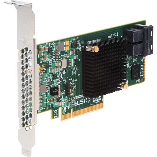 Intel SAS Controller - 12Gb/s SAS, Serial ATA/600 - PCI Express 3.0 x8 - Plug-in Card