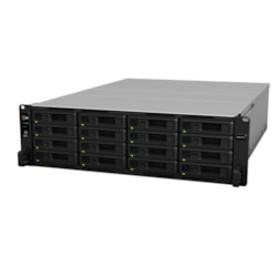 Synology RackStation RS4017XS+ 16 x Total Bays SAN/NAS Storage System - Rack-mountable
