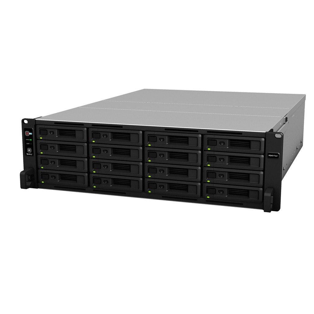 Synology RackStation RS4017XS+ 16 x Total Bays SAN/NAS Storage System - Rack-mountable