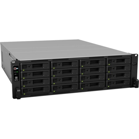 Synology RackStation RS4017XS+ 16 x Total Bays SAN/NAS Storage System - Intel Xeon Octa-core (8 Core) 2.10 GHz - 8 GB RAM - DDR4 SDRAM Rack-mountable