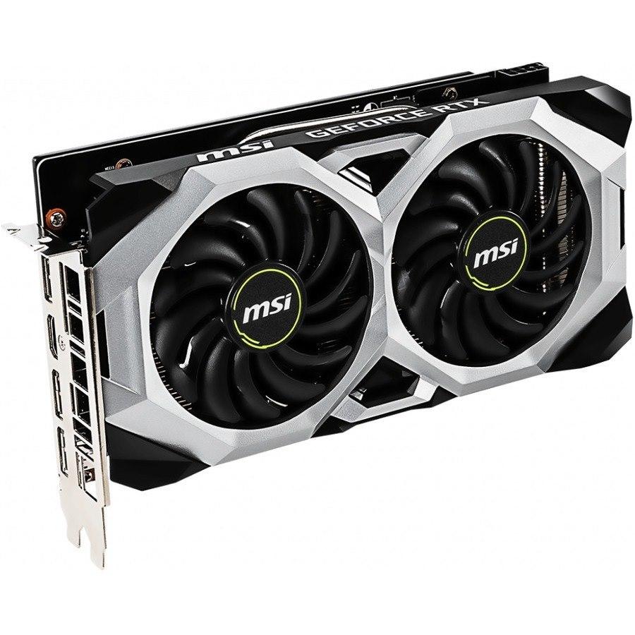 MSI VENTUS RTX 2060 VENTUS 6G OC GeForce RTX 2060 Graphic Card - 1.71 GHz Boost Clock - 6 GB GDDR6