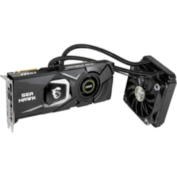 MSI RTX 2080 SEA HAWK X GeForce RTX 2080 Graphic Card - 1.86 GHz Boost Clock - 8 GB GDDR6