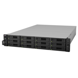 Synology RX1216SAS Drive Enclosure - Mini-SAS Host Interface - 2U Rack-mountable