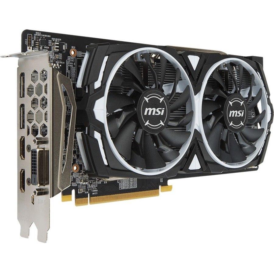 MSI ARMOR RX 580 ARMOR 8G OC Radeon RX 580 Graphic Card - 8 GB GDDR5