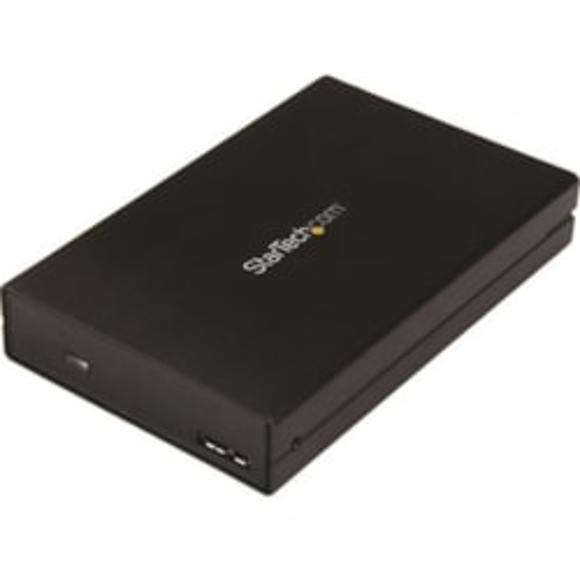 StarTech.com Drive Enclosure External - Black