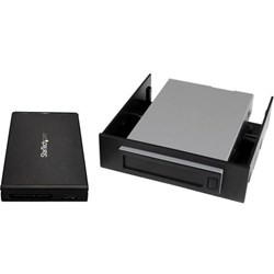 "StarTech.com Drive Enclosure for 3.5"", 5.25"" - USB 3.1 Micro-B Host Interface - UASP Support Internal/External - Black"