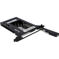 StarTech.com S25SLOTR Drive Enclosure Internal - Black