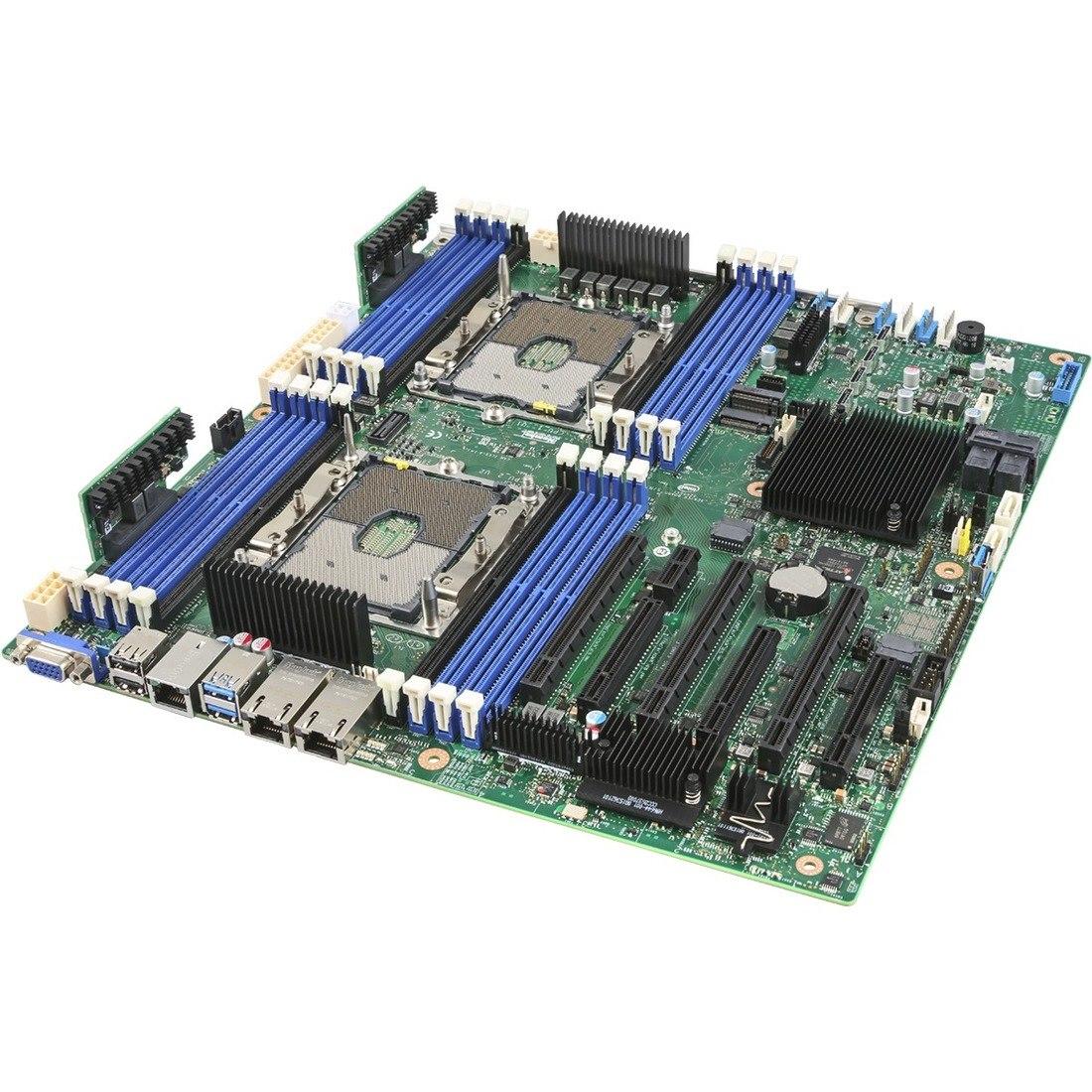 Intel S2600STBR Server Motherboard - Intel Chipset - Socket P