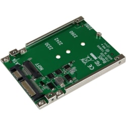 "StarTech.com Drive Bay Adapter for 2.5"" M.2 - Serial ATA/600 Host Interface Internal - TAA Compliant"