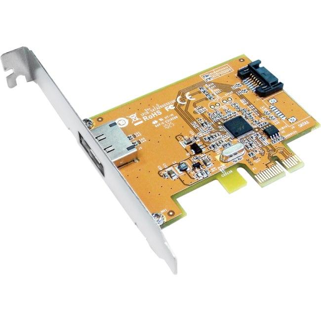 Sunix SATA Controller - Serial ATA/600 - PCI Express 2.0 x1 - Plug-in Card