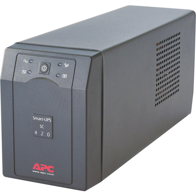 APC by Schneider Electric Smart-UPS Line-interactive UPS - 420 VA/260 WTower