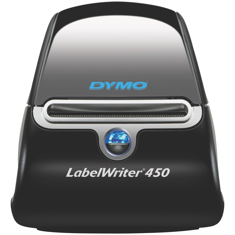 Dymo LabelWriter 450 Direct Thermal Printer - Monochrome - Desktop - Label Print
