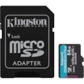 Kingston Canvas Go! Plus 64 GB Class 10/UHS-I (U3) microSDXC