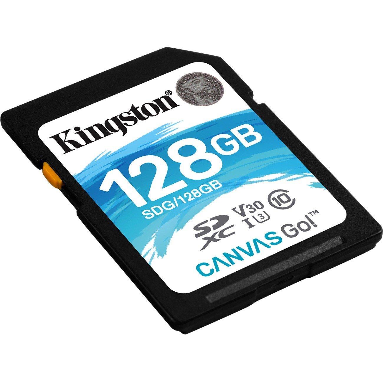 Kingston Canvas Go! 128 GB SDXC