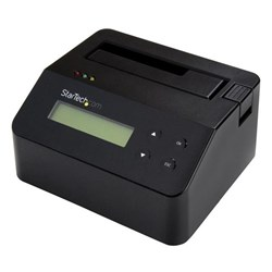 StarTech.com Drive Dock Serial ATA/600 - USB 3.0 Type B Host Interface External - Black - TAA Compliant